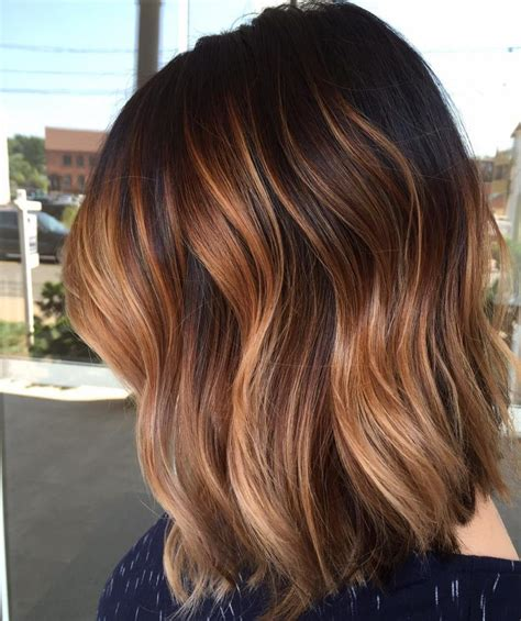 medium ombre haircuts luscious trends fall in love with these ombre colors for