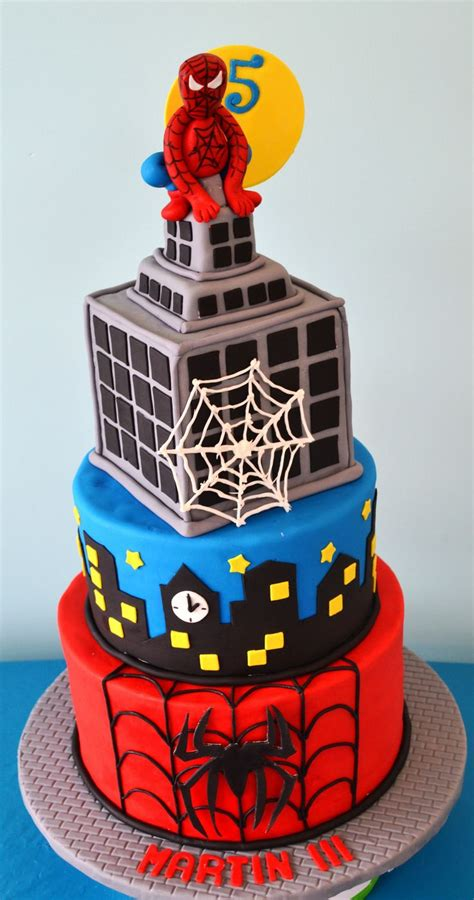 spiderman cake   birthday cakes superhero cake cake spiderman