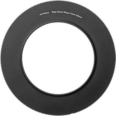 Jc02 52 77mm Step Up Ring vu filters 52 77mm step up ring vstr7752 b h photo