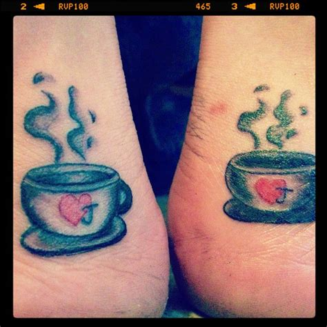 coffee mug tattoo coffee cup matching my is a canvas