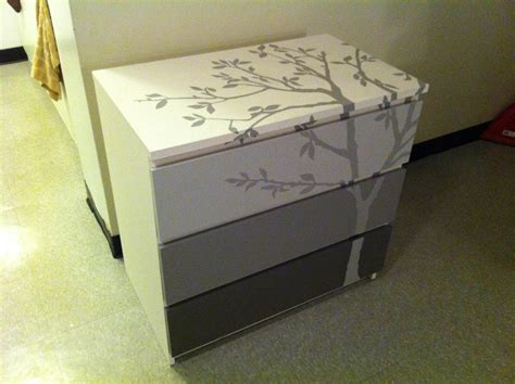 malm dresser painted my first pinterest original diy ikea malm dresser it was