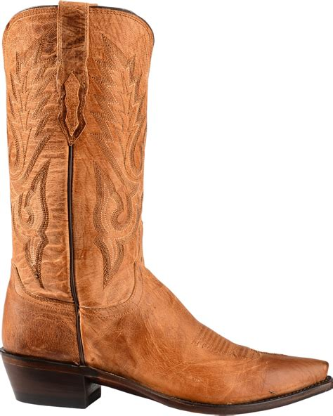 mens boots lewis lucchese s lewis snip toe mandras goat western boots