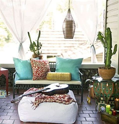 boho chic home decor 24 colorful boho chic balcony d 233 cor ideas digsdigs