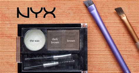 Pensil Alis Nyx review nyx eyebrow cake powder brown cheaper duper