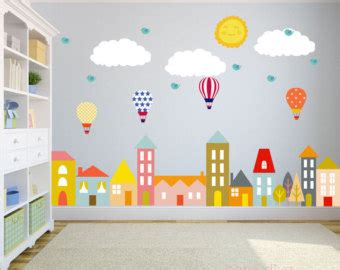 wall stickers childrens rooms wall decal etsy