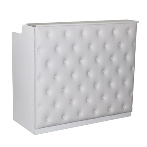 Tufted Salon Reception Desk Tufted Salon Reception Desk Desk Design Ideas