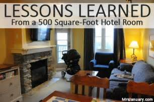 How Big Is 500 Sq Ft by Lessons Learned From A 500 Square Foot Hotel Room