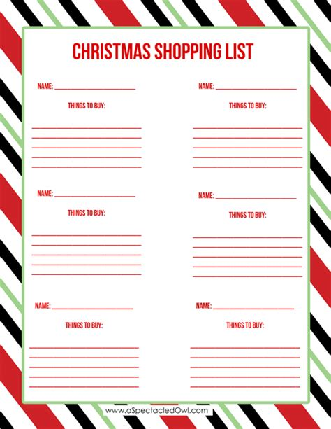 christmas list printable driverlayer search engine