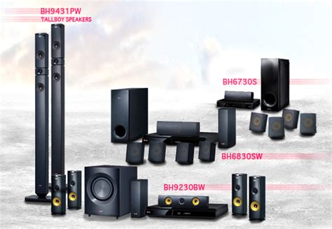 Home Theater Lg 3d Sound new lg smart players and home theater systems for