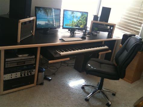 Awesome Kk Audio Md 2 Desk W Vr6 Racks Music Studio Studio Production Desk