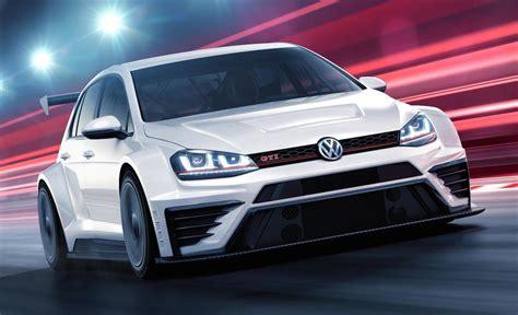 vw golf gti tcr race car announced