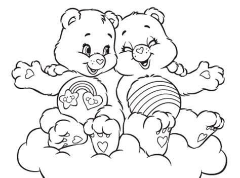 wonderheart bear coloring page get this care bear coloring pages online printable nhywg