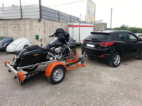 Porte Moto Voiture by Remorques Porte Moto Pour Harley Davidson