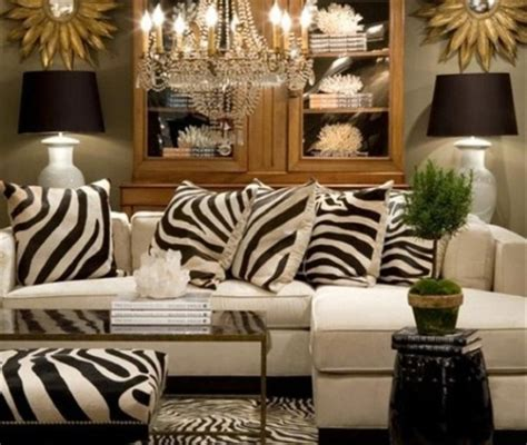 zebra print home decor 25 ideas to use animal prints in home d 233 cor digsdigs