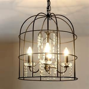 birdcage pendant light chandelier country iron birdcage pendant lighting