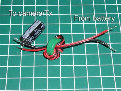 capacitor for lc filter diy minimal fpv backpack flite test