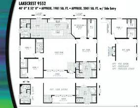 Marlette Floor Plans Marlette Triple Wide Floor Plans Triple Home Plans Ideas