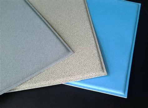 materiali per controsoffitti i pannelli fonoassorbenti