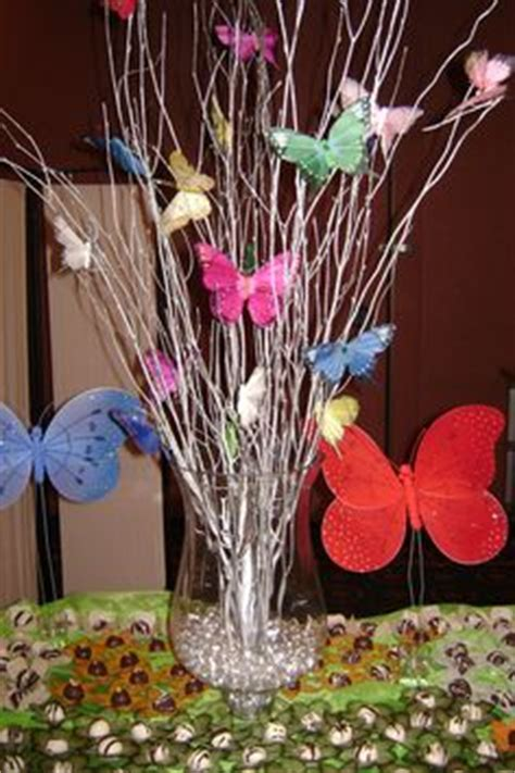 butterfly centerpieces rubyskreations mesas butterflies and centerpieces