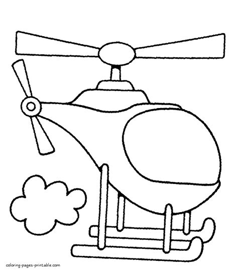 coloring pages for toddlers preschool and kindergarten toddlers coloring pages helicopters