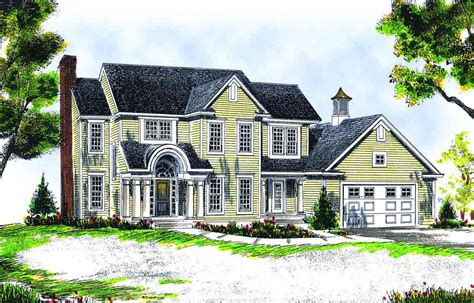 two story farmhouse plans attractive two story farmhouse 89114ah architectural