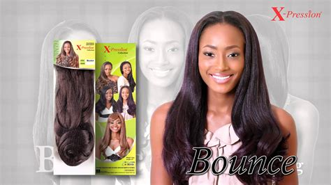 expressions for a weave hairstyle x pression bounce youtube