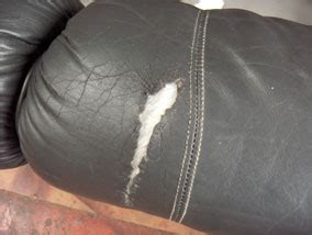 how to repair a rip in a leather couch leather repair furniture photos