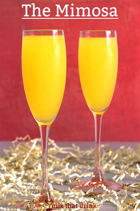 mimosa drink recipe mix that drink