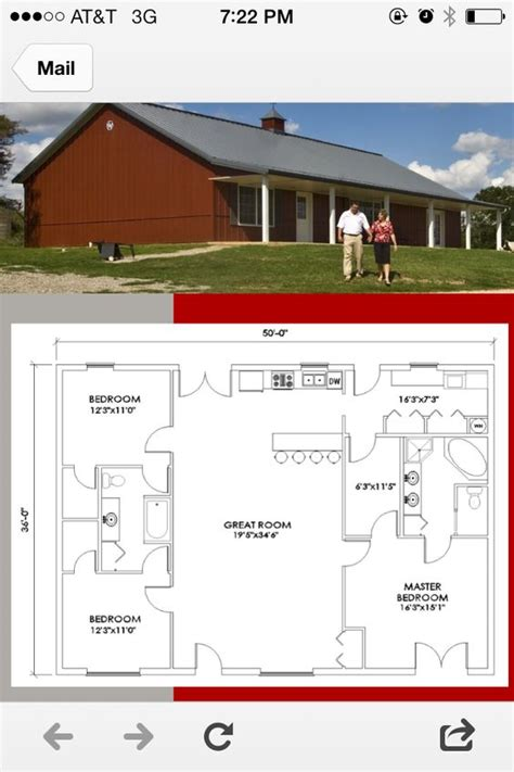 morton building home plans morton house plan 1800 sq ft loving the simplicity