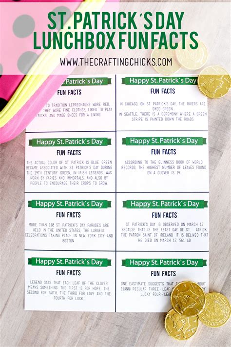 day facts st s day lunchbox facts the crafting