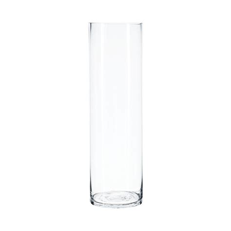 vase cylindrique quot clear quot 50cm transparent