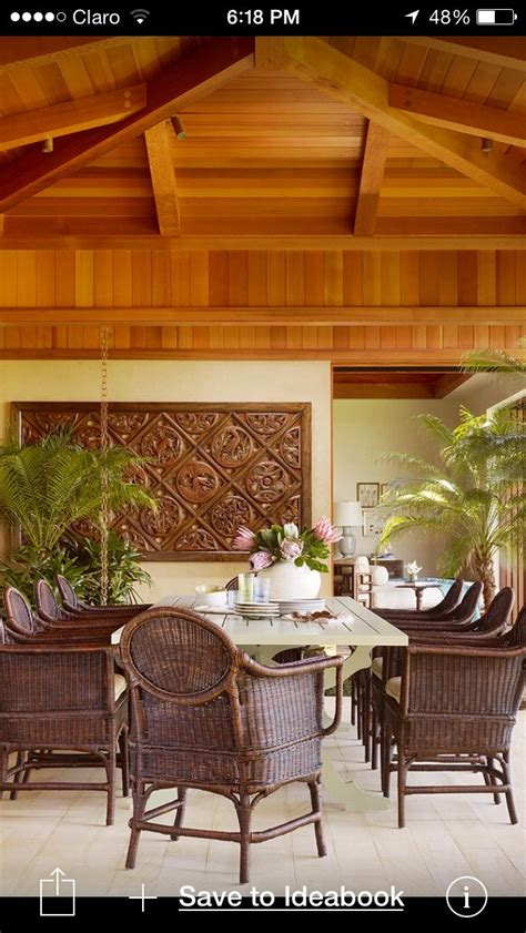 comedor tropical dining room outdoor dining furniture