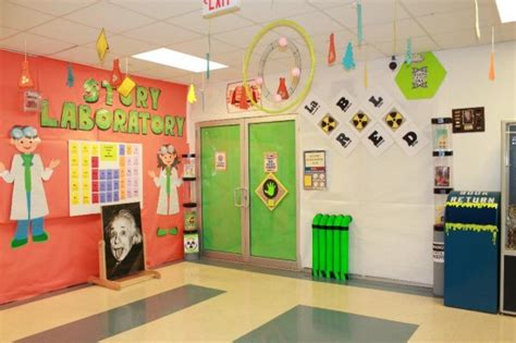 themes for class decoration story laboratory classroom theme idea myclassroomideas