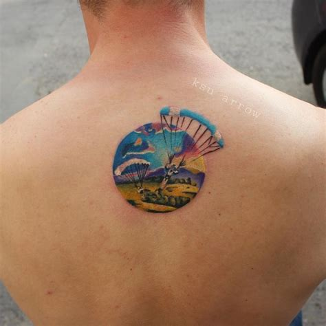 parachute tattoo 450 best images about on parachutes
