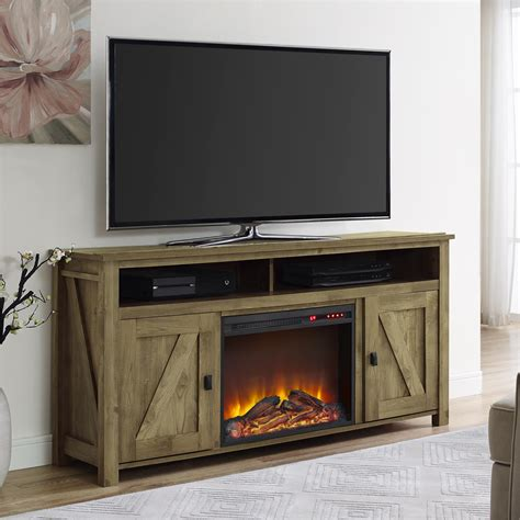 light wood tv stands walmart ameriwood furniture farmington electric fireplace tv