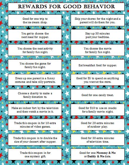 Bathroom Passes Pdf by Rewards For Good Behavior Free Printable Moms Amp Munchkins