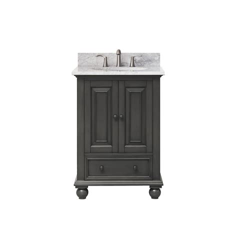 25 Inch Vanity Thompson Charcoal Glaze 25 Inch Vanity Combo Avanity Vanities Bathroom Vanities