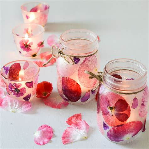 Single Flower Vase Centerpiece Flower Petal Candle Holders Adventure In A Box