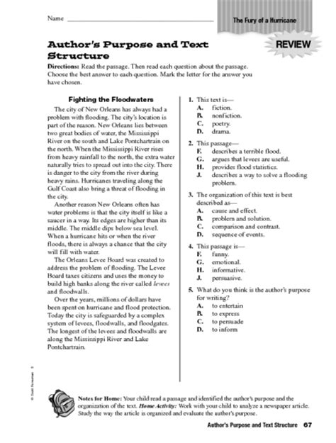 Text Structure Worksheets 5th Grade by All Worksheets 187 Informational Text Worksheets Printable