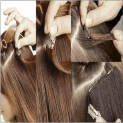 how to put in hair how to put in hair extensions by yourself clip on hair