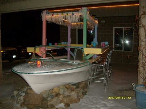 boat house bar maybe a boat bar backyard tiki bar pinterest
