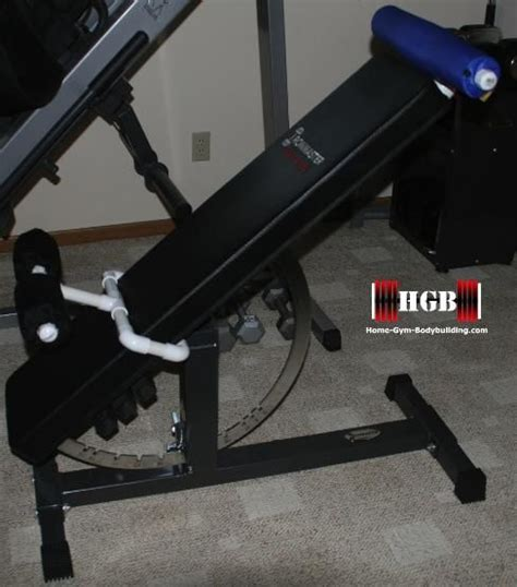 45 degree incline bench homemade hyperextension bench using pvc fittings convert