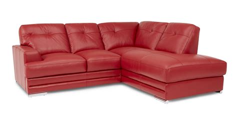dfs clearance sofas sale dfs quantum enzo red 100 leather left hand corner sofa