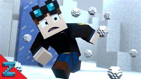 snowball fiiiiiight  diamond minecart minecraft animation youtube