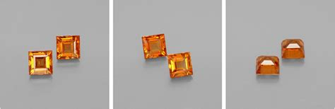 Orange Safir Srilanka harga batu orange hessonite garnet 0 77 karat asli sri