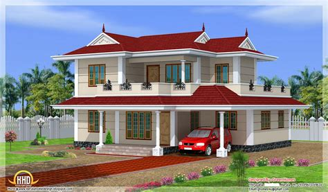 New Home Models And Plans Model Storey House Design Green Homes Thiruvalla