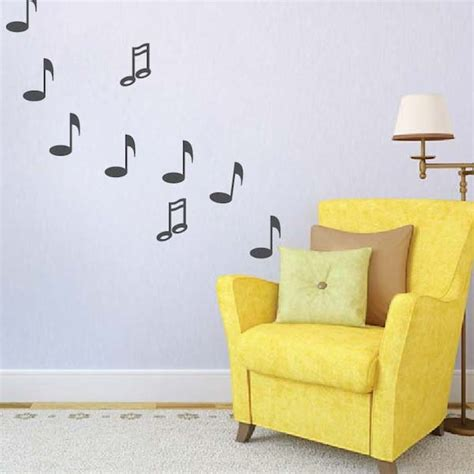 trendy wall designs music note wall decals trendy wall designs