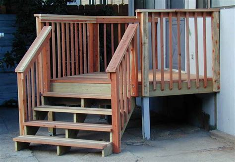 how to build a banister for stairs how to build a wood stair railing for outdoor