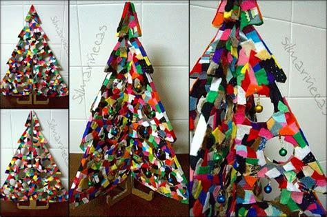 rbol de navidad reciclado manualidades 4 ideas recicladas para navidad manualidades