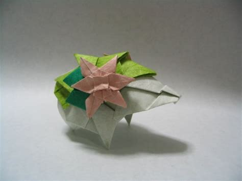 Origami Arceus - origami from pearl black white x y